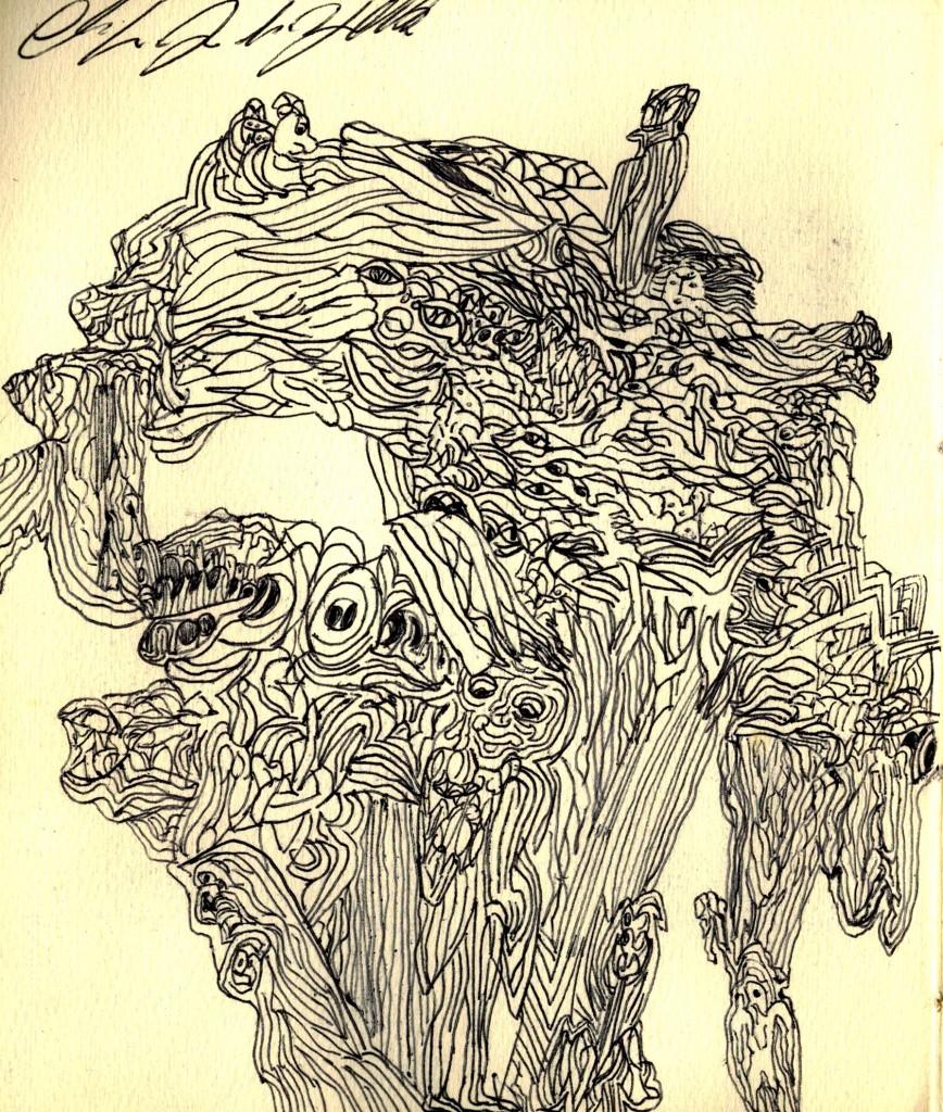 disegno - claudio arezzo di trifiletti