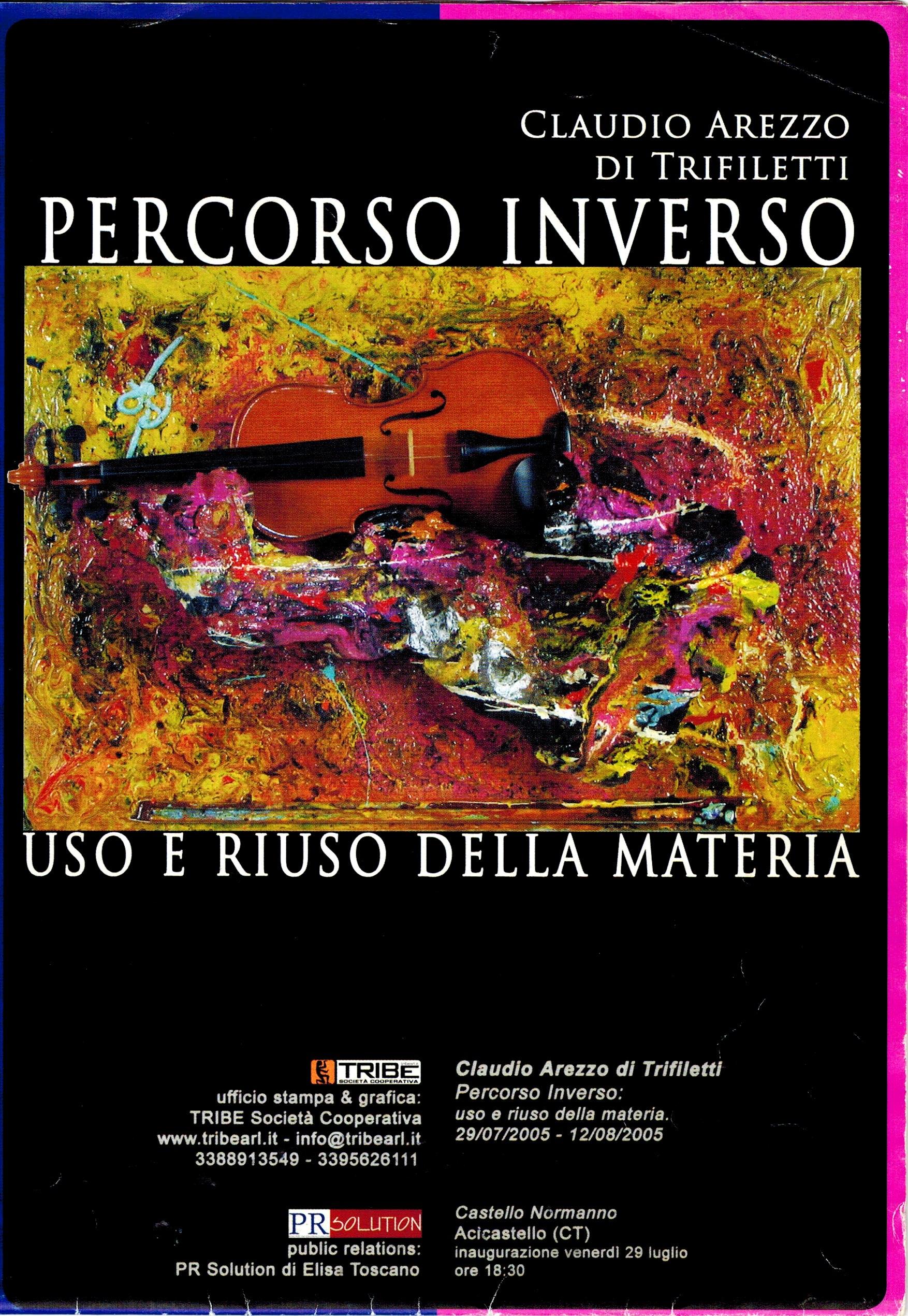 USO E RIUSO DELLA MATERIA - PERCORSO INVERSO