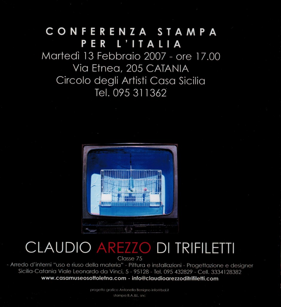 IMPRINTS CONFERENZA STAMPA