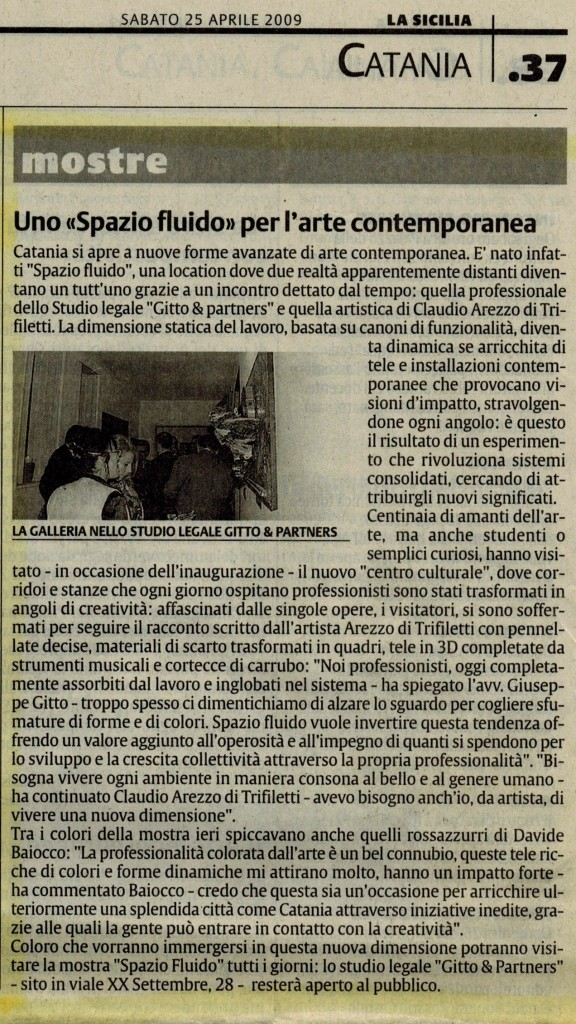 sabato 25 aprile 2009 la sicilia