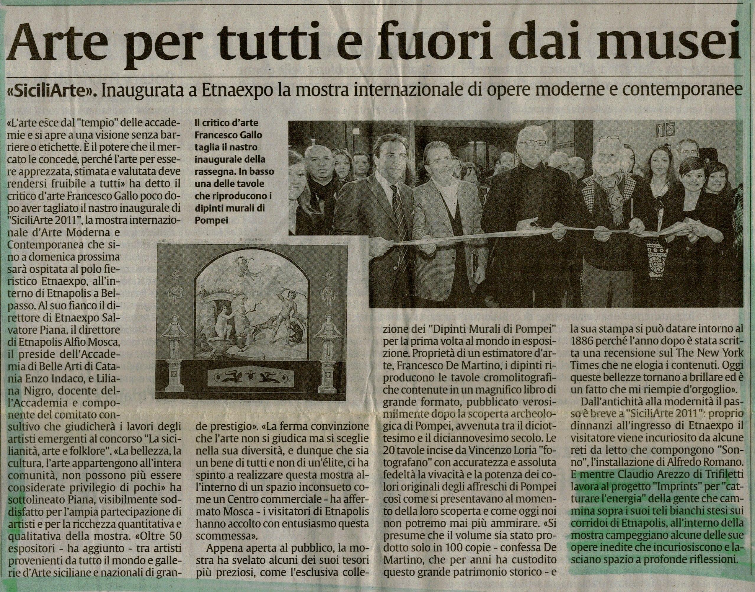 la sicilia - 25 marzo 2011