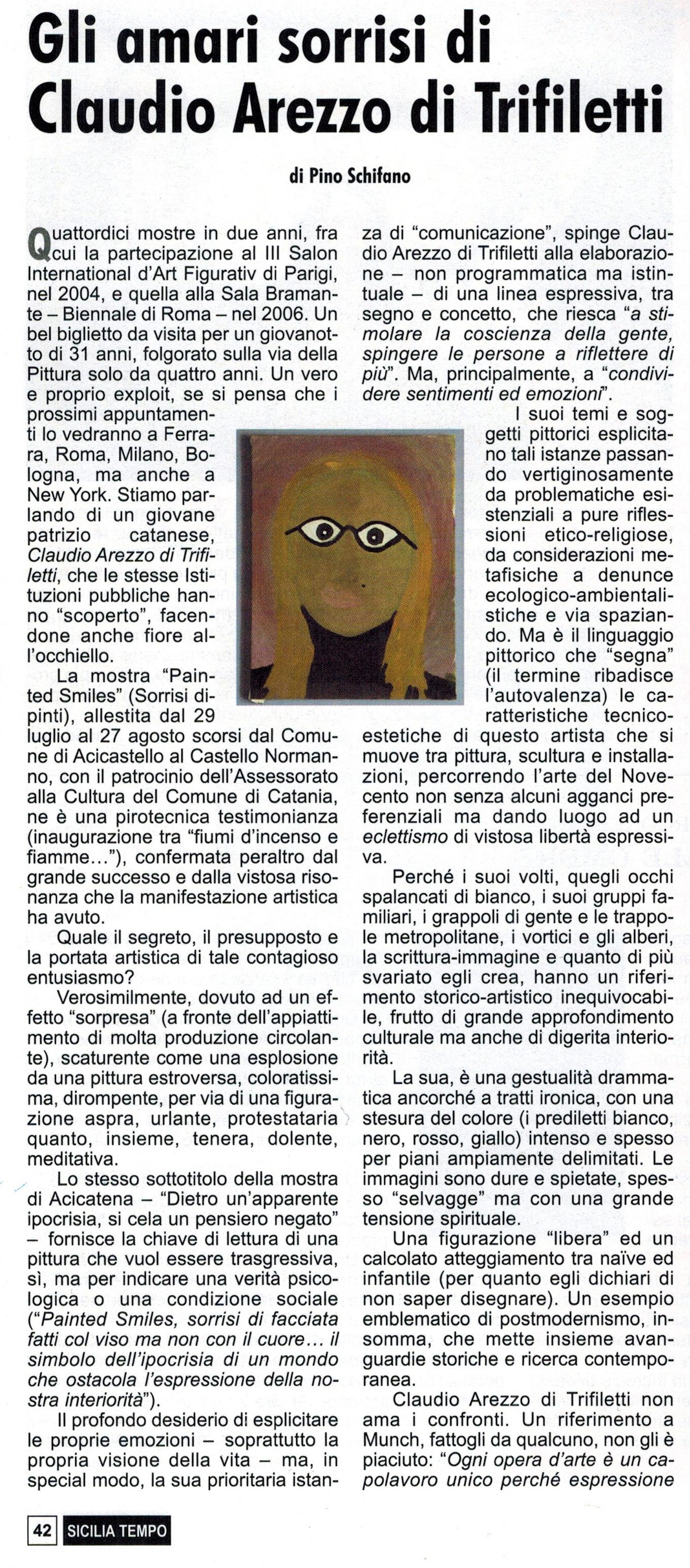 sicilia tempo n.439 - 2006