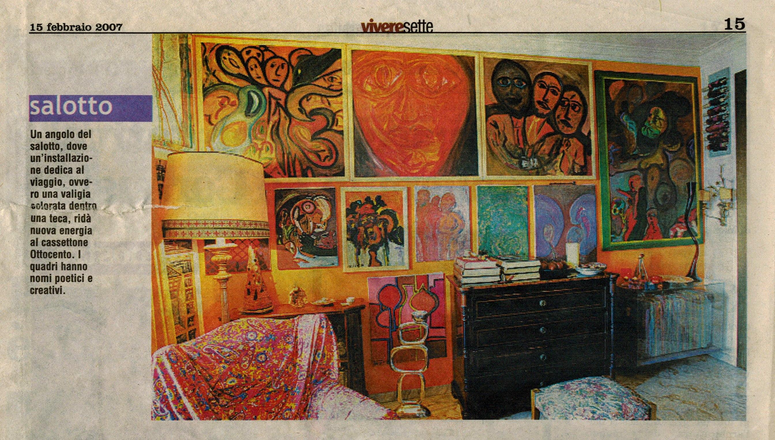 vivere sette magazine - le impronte dell'anima