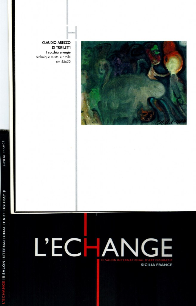 "L'ECHANGE ""III SALON INTERNATIONAL D'ART FIGURATIF "" - 9.23 OCTOBRE 2004"