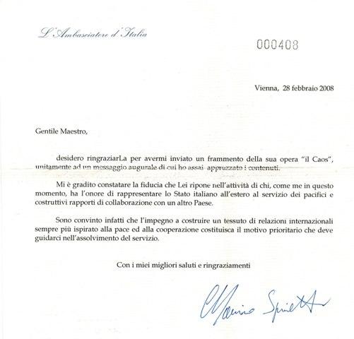 Ambasciatore Vienna
