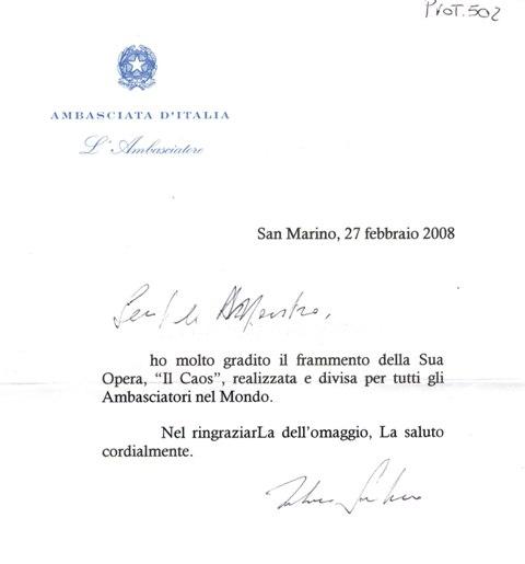 Ambasciatore San Marino