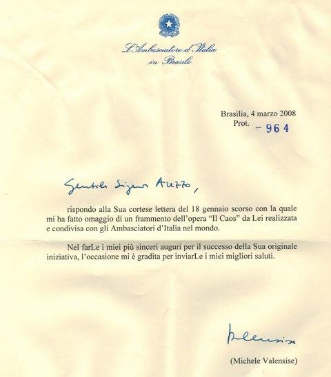 Ambasciatore Brasilia