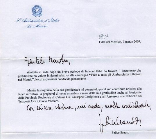 Ambasciatore Messico