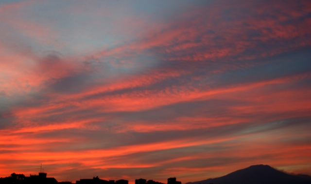 sunset catania