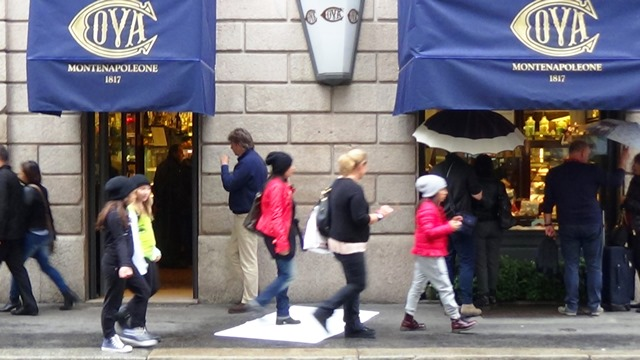 Via Monte Napoleone Milano