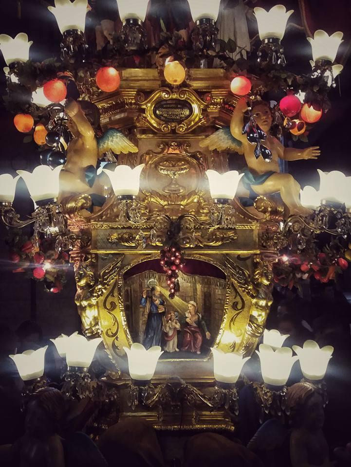 Candelora Sant'Agata (Ortofrutta) Festa Via Conte di Torino - Catania