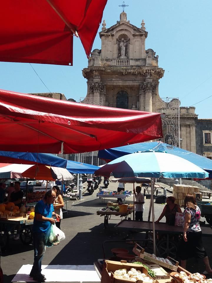 Piazza Carlo Alberto Catania