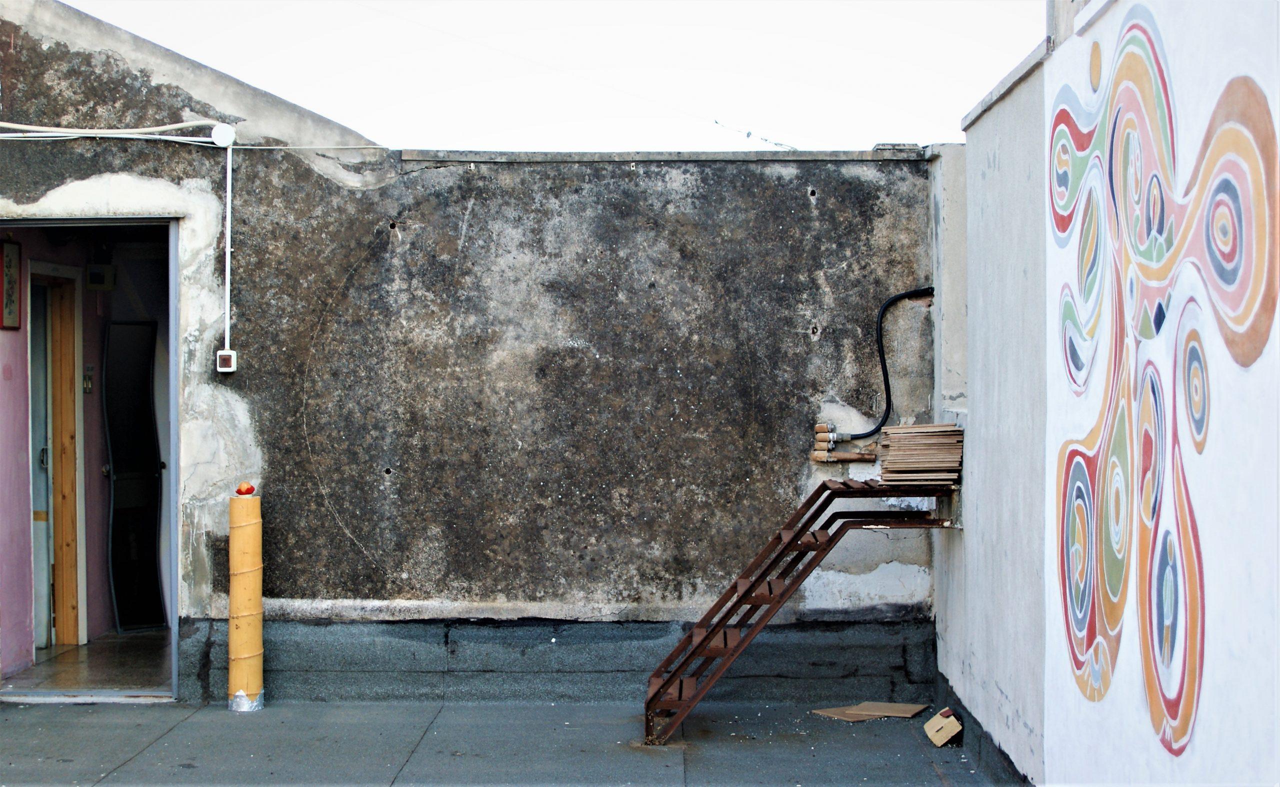 Murale Palazzo Speciale LE POLVERI DELL'ETNA
