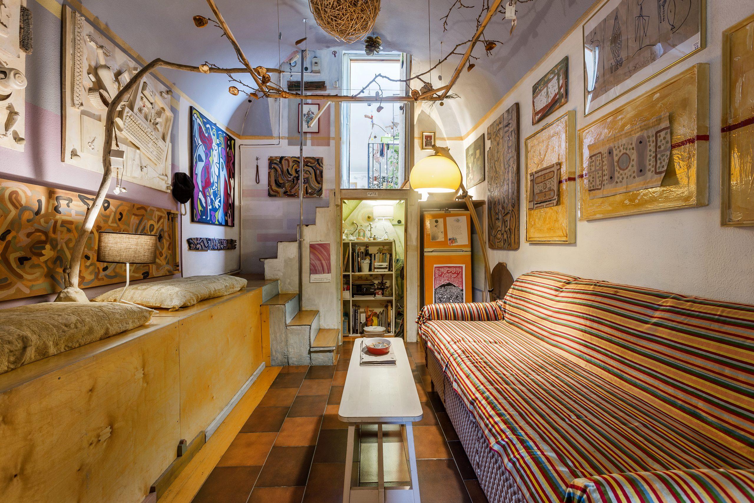 mezzanine living interior designer