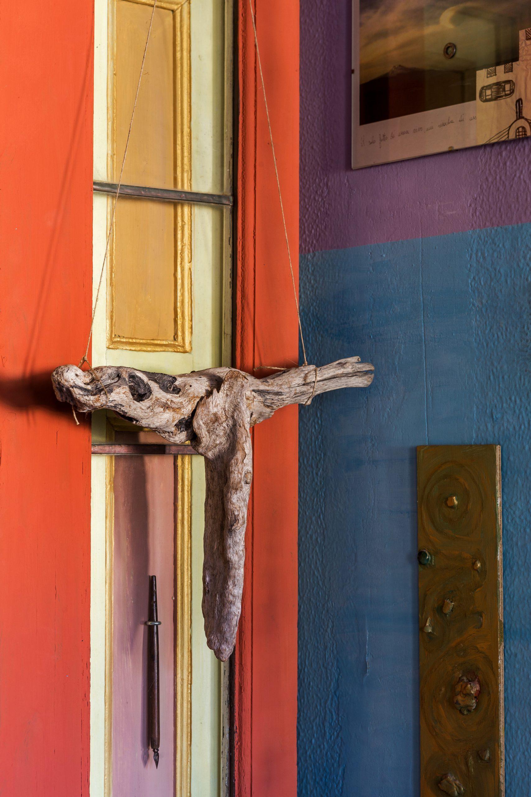 sosiale huis kontemporêre kunstenaar